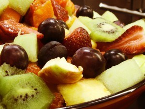 Easy fresh fruit salad recipe