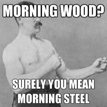 Get morning wood