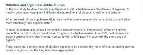 L Citrulline Vs L Arginine