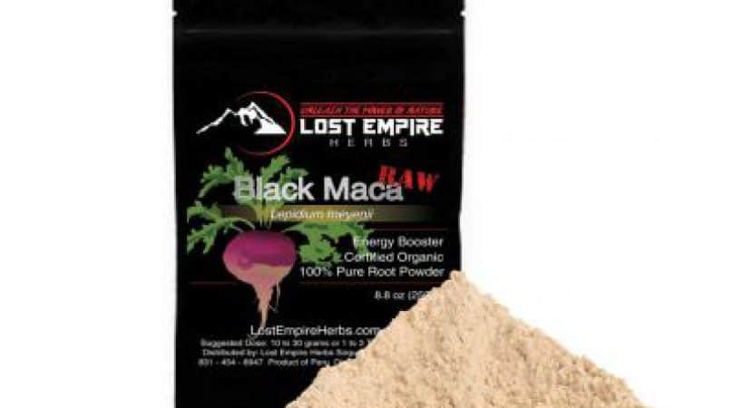 Black Maca For Erectile Dysfunction