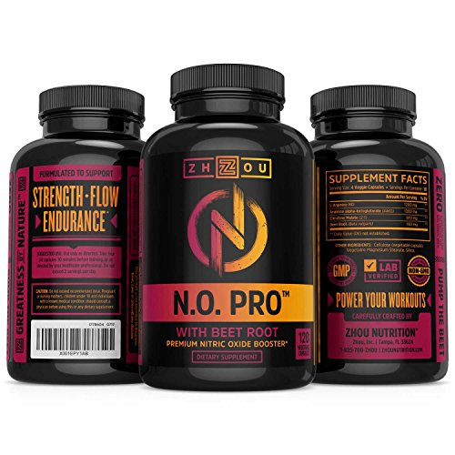 Zhou N.O Pro Nitric Oxide Supplement Review