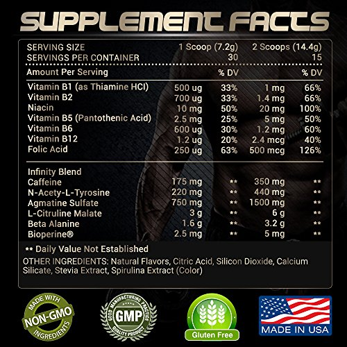 Buy Rari Nutrition Infinity Pre Workout Supplement